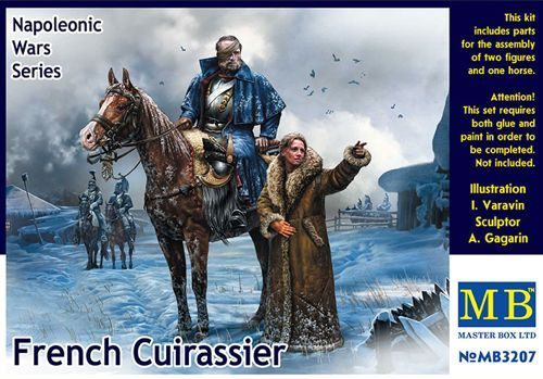 Master Box 1/32 French Cuirassier, Napoleonic Wars Series # 3207