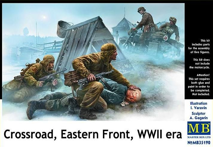 Master Box 1/35 Crossroad, Eastern Front WWII Era # 35190