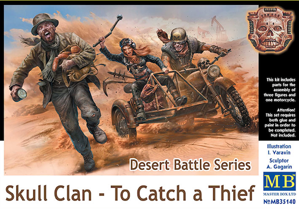 Master Box 1/35 Desert Battle Series, Skull Clan - To Catch a Th