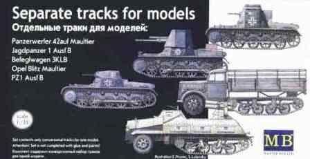 Master Box 1/35 Pz.Kpfw.I Separate Track Links # 3505