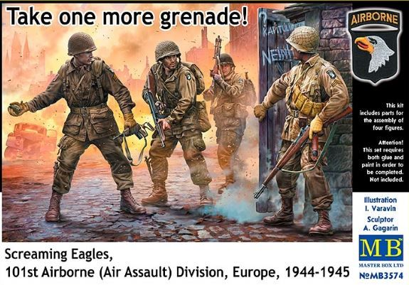 Master Box 1/35 Take one more grenade! Screaming Eagles 101st Airborne (Air Assault) Division, Europ
