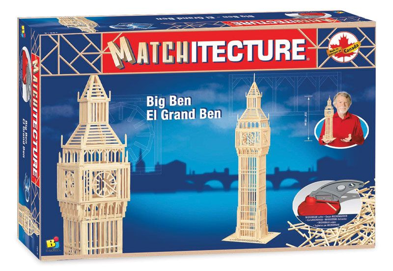 Matchitecture - Big Ben Matchstick Kit # 6618