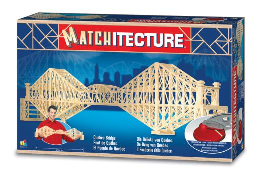 Matchitecture - Cantilever Bridge Matchstick Kit # 6620