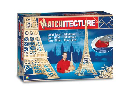 Matchitecture - Eiffel Tower Matchstick Kit # 6611