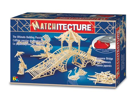 Matchitecture - Japanese Bridge Matchstick Kit # 6642