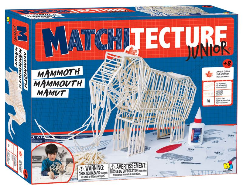 Matchitecture Junior - Mammoth Matchstick Kit # 6802