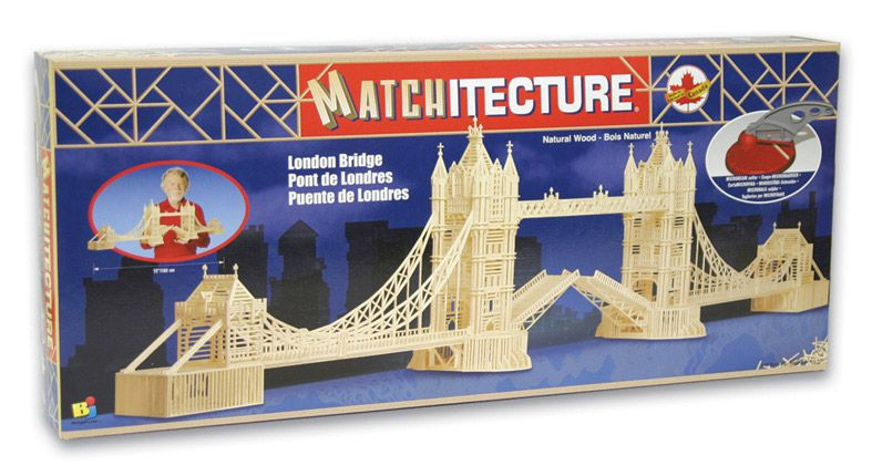 Matchitecture - London Bridge Matchstick Kit # 6631