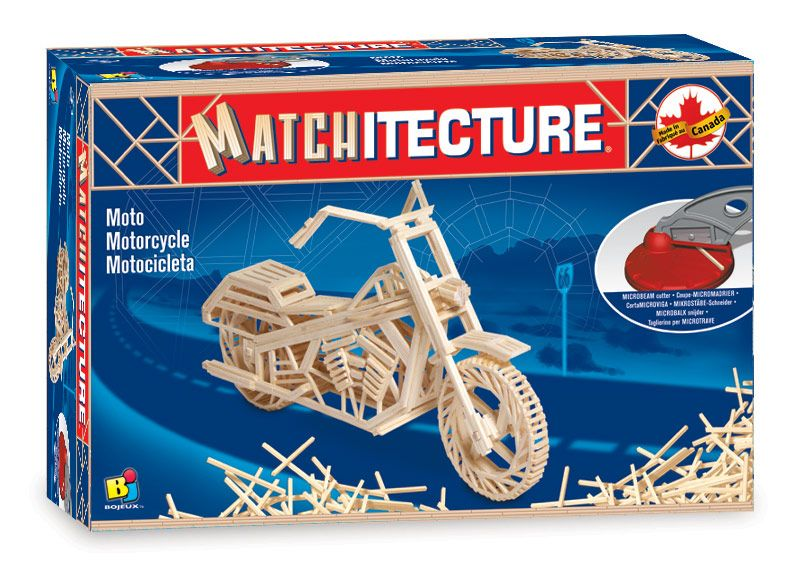Matchitecture - Motorcycle Matchstick Kit # 6649