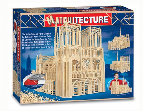 Matchitecture - Notre Dame de Paris Cathedral Matchstick Kit # 6636