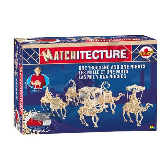 Matchitecture - One Thousand and One Nights Matchstick Kit # 6624