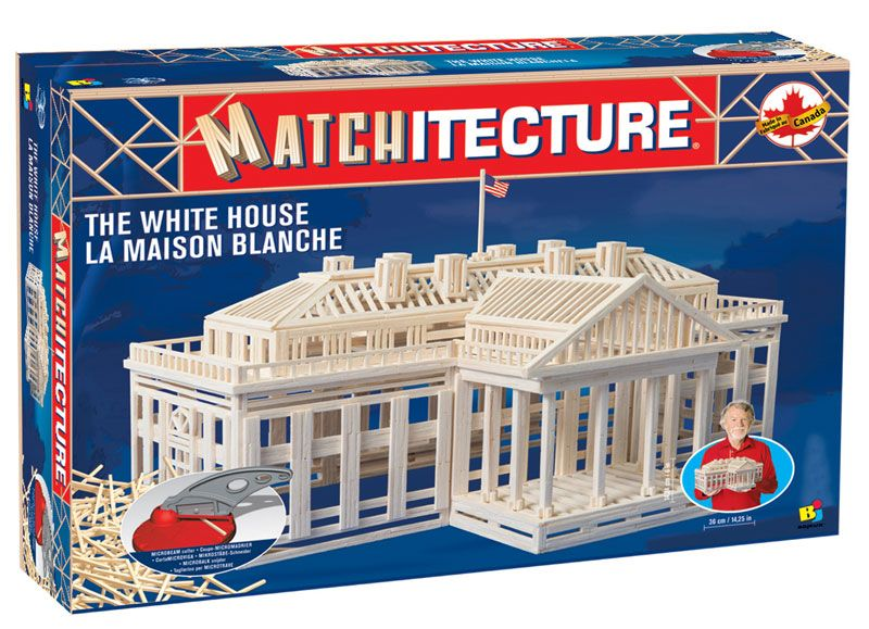 Matchitecture - The White House Matchstick Kit # 6626