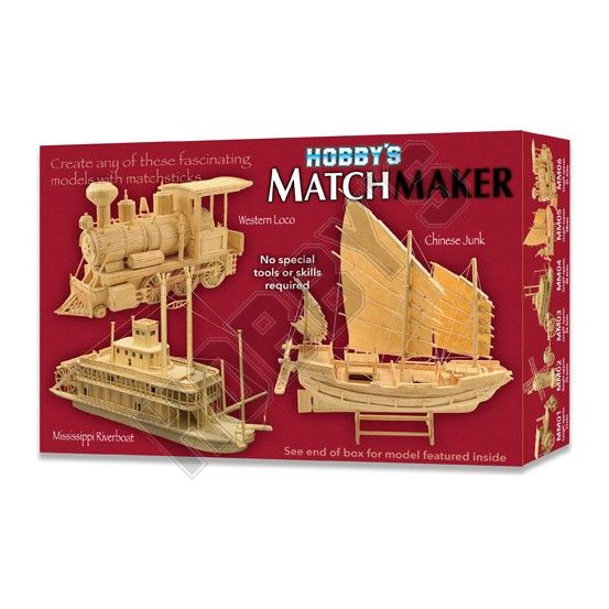 Matchmaker - Western Loco Matchstick Kit # 006