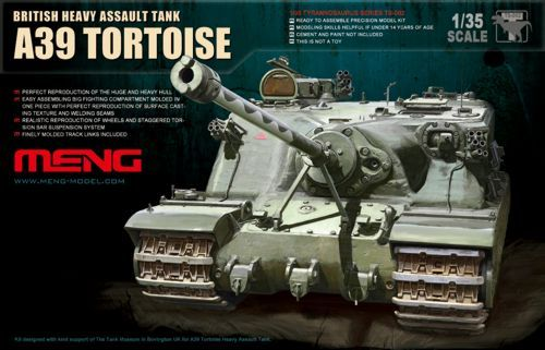 Meng 1/35 A39 Tortoise British Heavy Assault Tank # TS-002