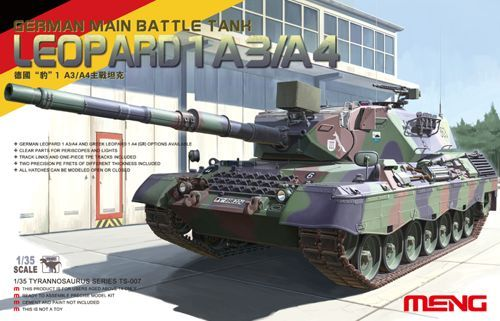 Meng 1/35 Leopard 1 A3/A4 German Main Battle Tank # TS-007