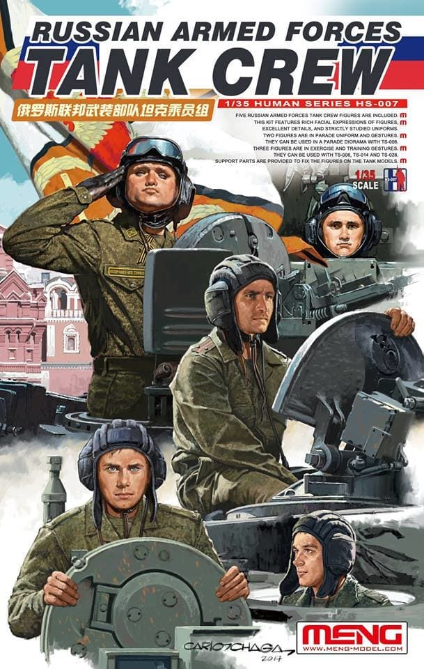 Meng 1/35 Russian Armed Forces Tank Crew # HS-007