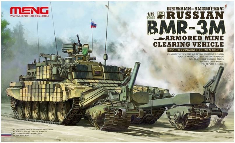 Meng 1/35 Russian BMR-3M Armored Mine Clearing Vehicle # SS-011