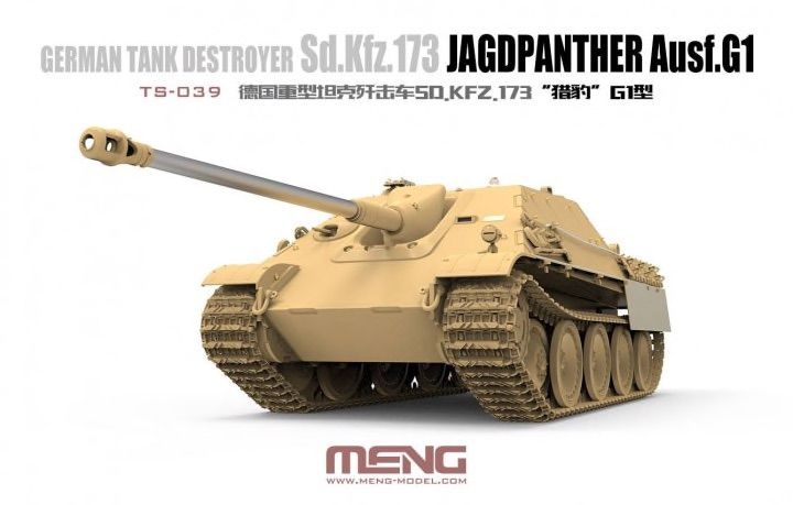 Meng 1/35 Sd.Kfz.173 Jagdpanther Ausf. G1 German Tank Destroyer # TS-039
