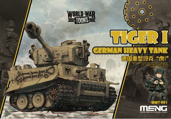Meng - German Tiger I Heavy Tank World War Toon # WWT-001