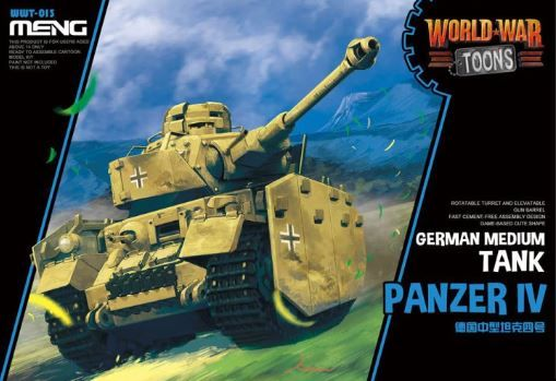 Meng - Panzer IV German Medium Tank World War Toon # WWT-013