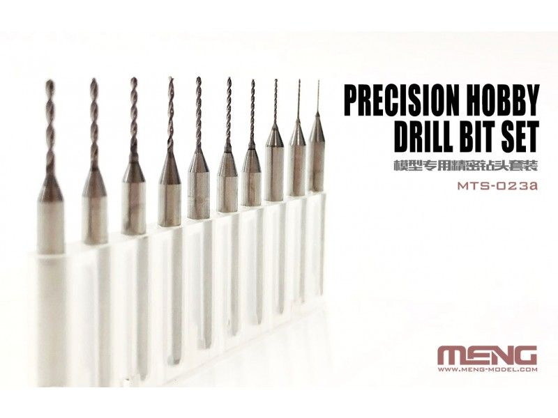 Meng - Precision Hobby Drill Bit Set # MTS-023a