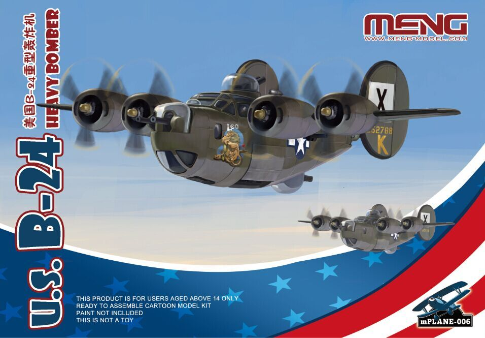 Meng - U.S. B-24 Heavy Bomber # MP-006