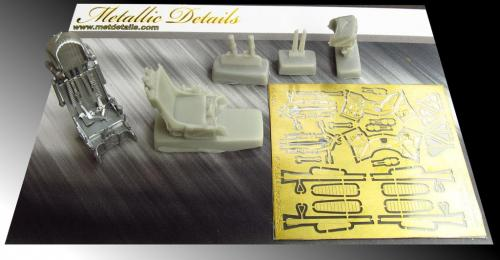 Metallic Details 1/48 Ejection Seat K-36DM Early Version # MDR4806