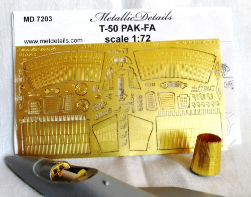 Metallic Details 1/72 Sukhoi T-50 Soviet Stealth Fighter # MD7203