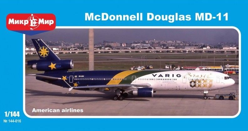 Micro-Mir 1/144 McDonnell-Douglas MD-11 # 144-017