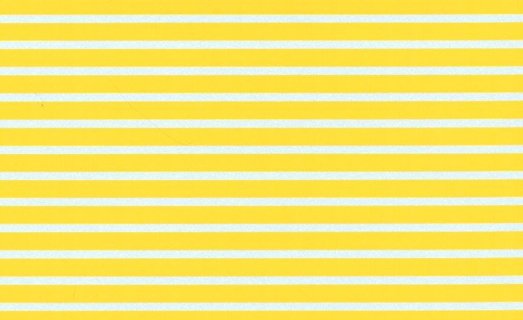 "Microscale - 1/4"" Yellow Parallel Stripes # MSPS146"