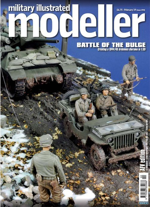 Military Illustrated Modeller (Issue 094) February '19 (AFV Edition) Battle of the Bulge