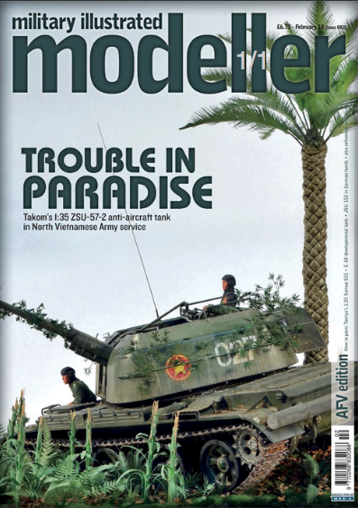 Military Illustrated Modeller (issue 82) February '18 (AFV Edition)