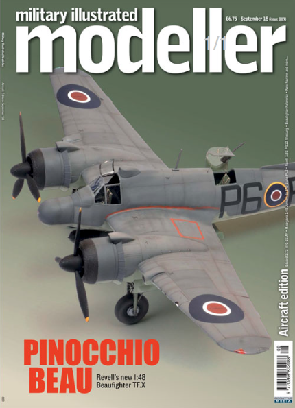 Military Illustrated Modeller (issue 89) August '18 (Aircraft Edition) Pinocchio Beau