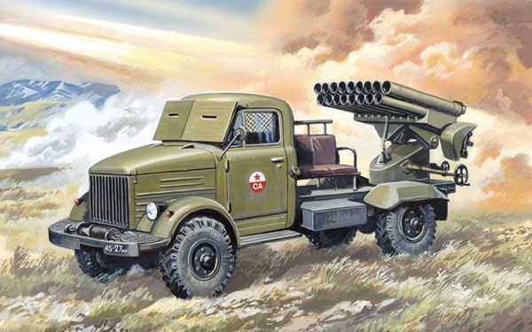 Military Wheels 1/72 BM14-17 Rocket Launcher # 7240