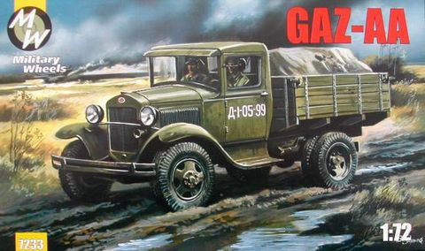 Military Wheels 1/72 GAZ-AA # 7233