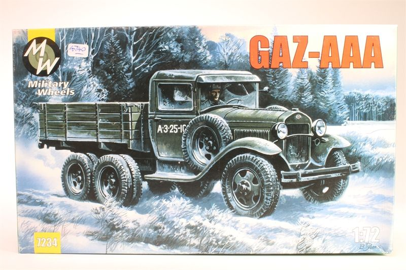Military Wheels 1/72 GAZ-AAA # 7234