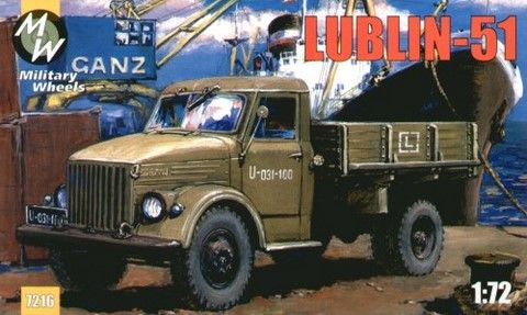 Military Wheels 1/72 Lublin-51 # 7216