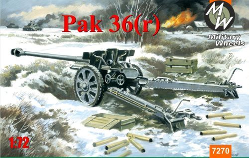 Military Wheels 1/72 Pak-36(r) # 7270