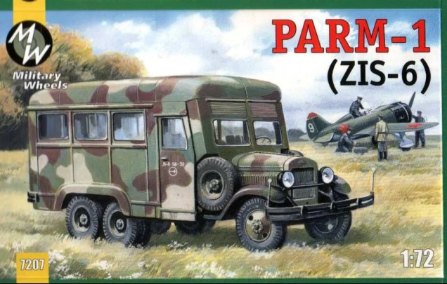 Military Wheels 1/72 PARM-1 # 7207
