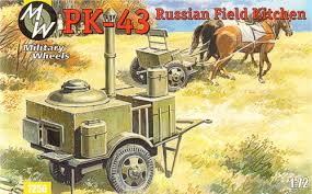 Military Wheels 1/72 PK-43 Russian Field Kitchen # 7256