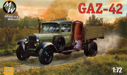 Military Wheels 1/72 Russian GAZ-42 Cargo Truck # 7241