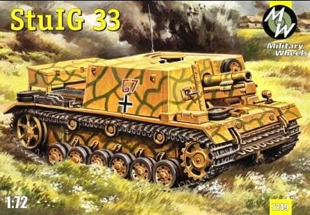 Military Wheels 1/72 StuIG 33 # 7249