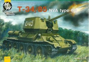 Military Wheels 1/72 T-34/85 NVA Type 63 # 7210