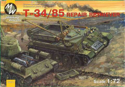 Military Wheels 1/72 T-34/85 Recovery Tank # 7211