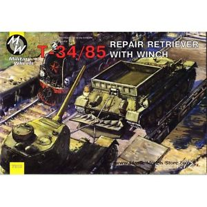 Military Wheels 1/72 T-34/85 Recovery Vehicle # 7212