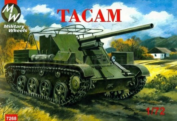 Military Wheels 1/72 TACAM Romanian Tank # 7268
