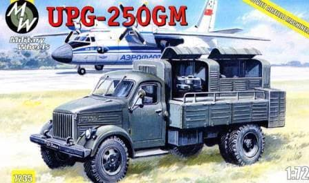 Military Wheels 1/72 UPG-250GM # 7235