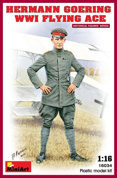 Miniart 1/16 Hermann Goering WWI Flying Ace # 16034