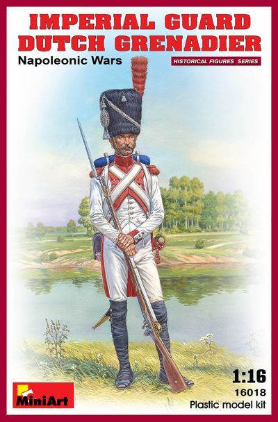 MiniArt 1/16 Imperial Guard Dutch Grenadier Napoleonic Wars # 16
