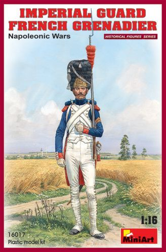 MiniArt 1/16 Imperial Guard French Grenadier Napoleonic Wars # 1