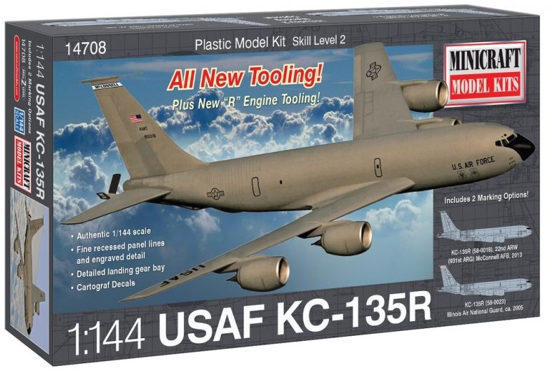 Minicraft 1/144 USAF KC-135R # 14708